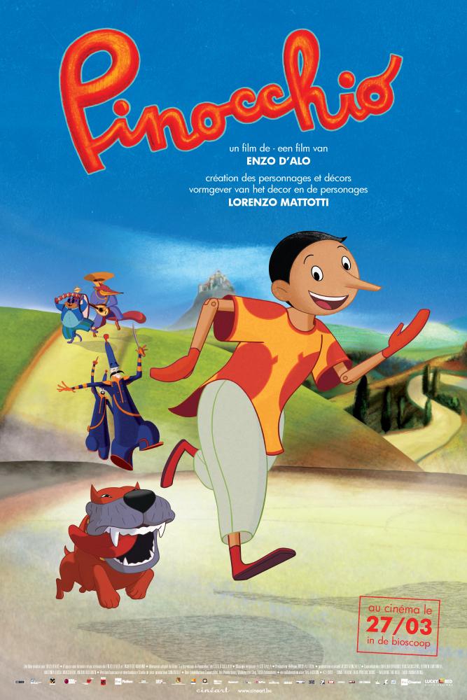 دانلود انیمیشن پینوکیو